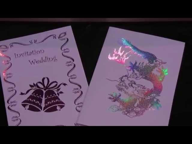 Печать открыток на лазерном принтере
