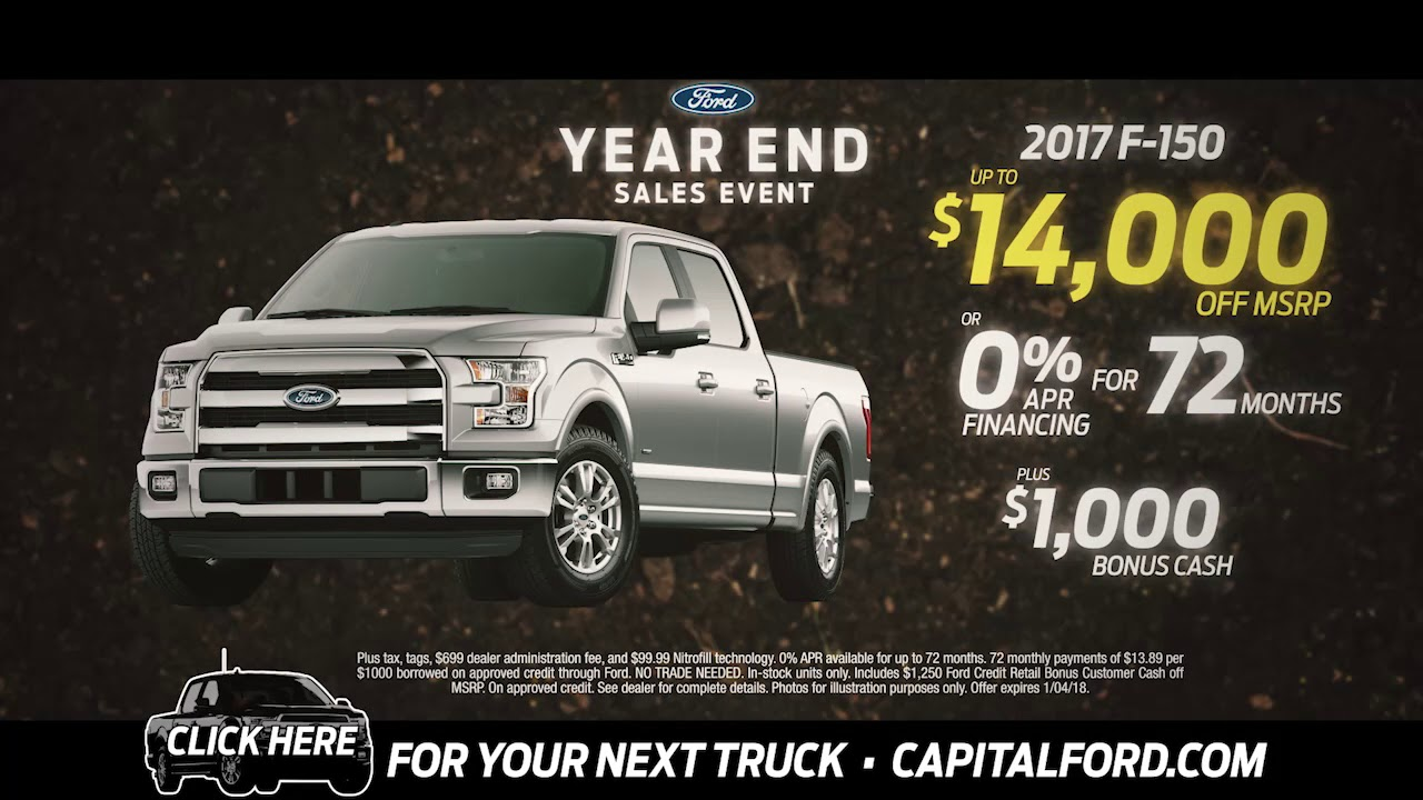 Capital Ford Raleigh >> Find Your Next Truck At Capital Ford Raleigh Youtube