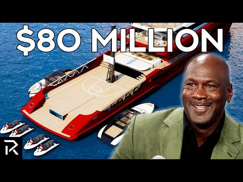 Inside Michael Jordan's $80 Million Basketball Court Yacht