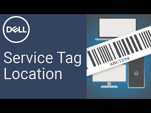 How to find a Dell Service Tag (Official Dell Tech Support)