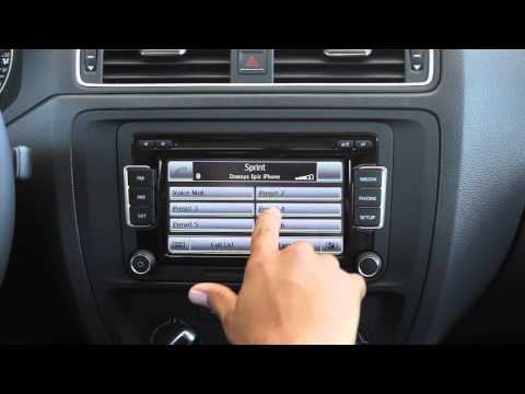 How to use your Phone with the Touchscreen in the 2015 VW Jetta