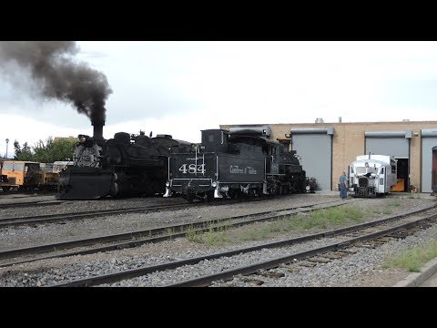 Taking On An Adventure With Cumbres & Toltec Scenic Railroad Stream Engine #489 And #487 On 7-27-17