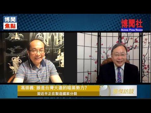 冯崇义:蔡英文当选的二股暗黑势力