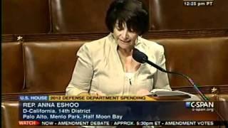 Rep  Eshoo Speech on Campaign Finance Disclosure