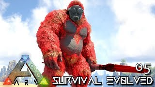 ARK: SURVIVAL EVOLVED - PRIMAL BIGFOOT GIGANTO & TRIKE E05 !!! ( PUGNACIA PARADOS )
