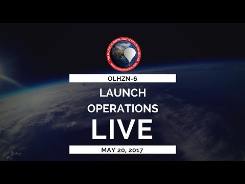 OLHZN-6 🔴 Live Launch Operations | High Altitude Weather Balloon | Part 1 of 3