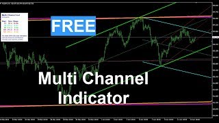 FREE Forex Multi Channel Trading MT4 Indicator download. View trading in many timeframes & channels