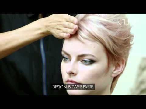 Keune Trend Collection 2015 Tactile Rituals - Vintage Pink Styling 2