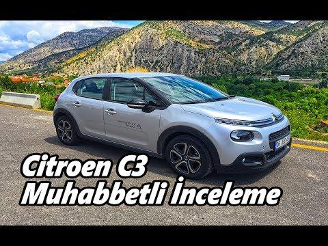 Citroen C3 EAT Yeni Şanzıman CarPLAY Muhabbetli İnceleme Sürüş