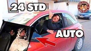 24 STUNDEN EINGESPERRT IM AUTO | TBATB