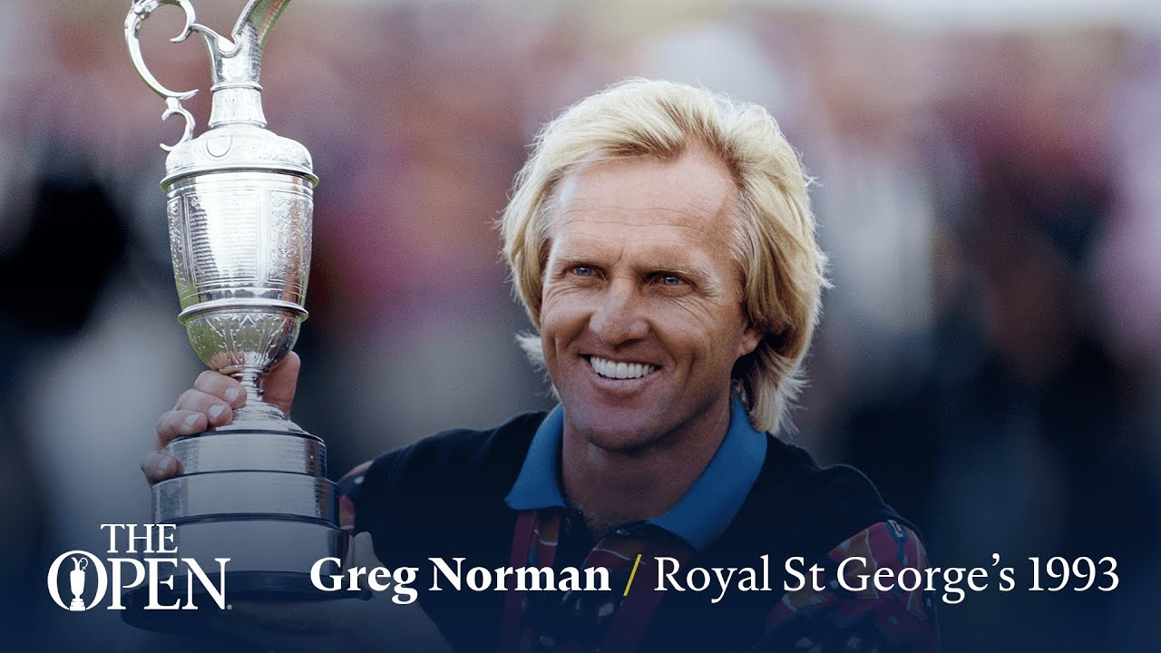 Greg Norman wins at Royal St George's | The Open Official Film 1993