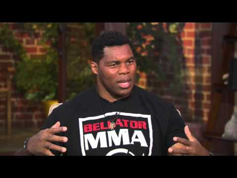 Hershel Walker talks going from football to MMA