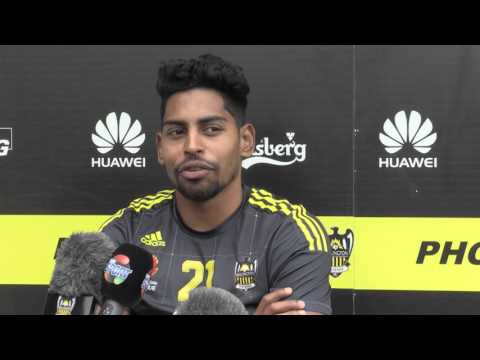Adidas From the Player with Phoenix FC star Roy Krishna - 2nd March 2016