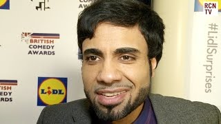 Paul Chowdhry Interview - New Stand Up Tour - British Comedy Awards 2014