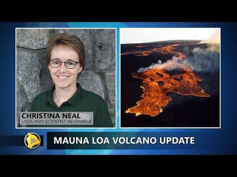Mauna Loa Volcano Update From USGS HVO (Jan. 9, 2018)