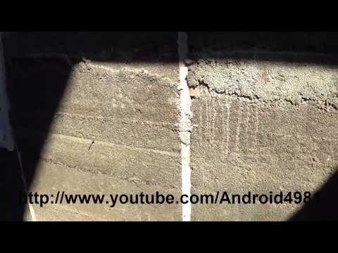 видео: Как построить стены из Опилкобетона