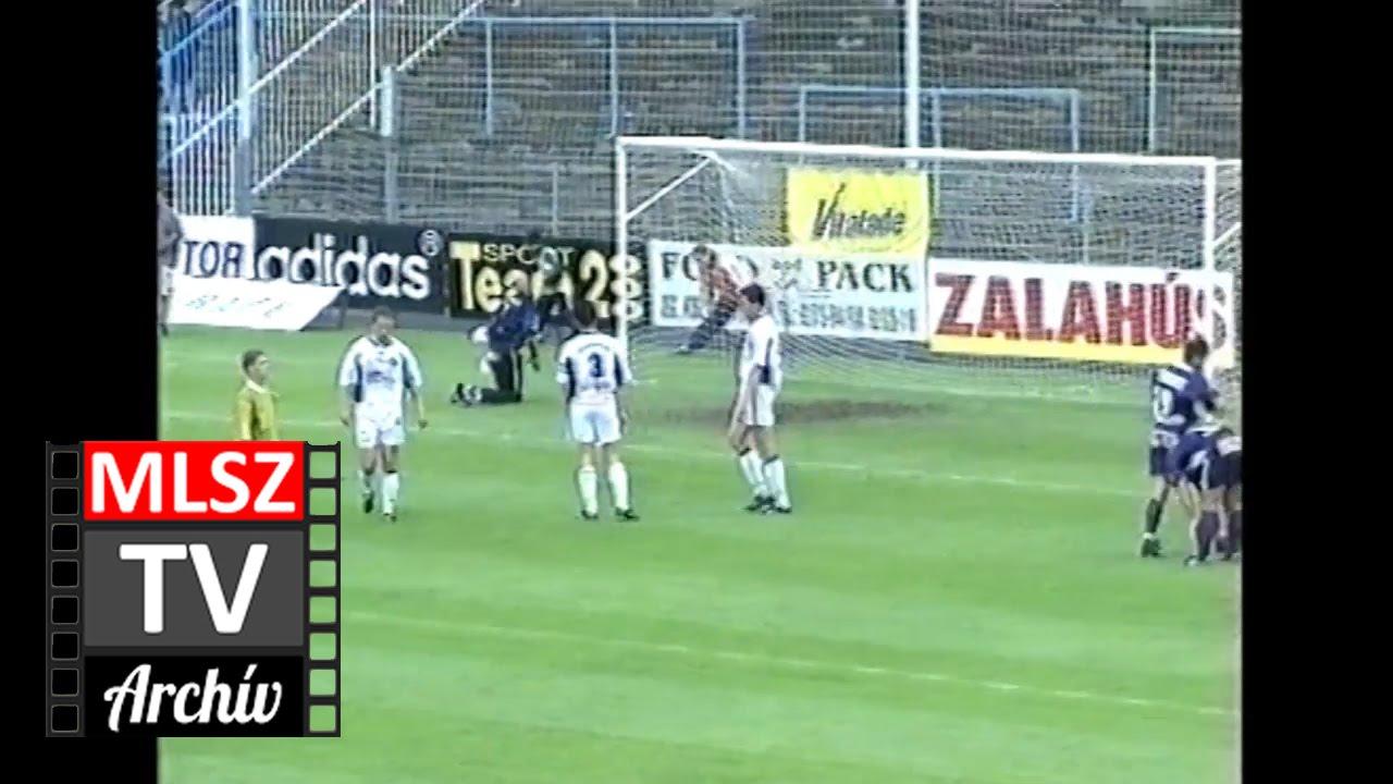Zalaegerszeg-Újpest | 1-1 | 2000. 05. 20 | MLSZ TV Archív