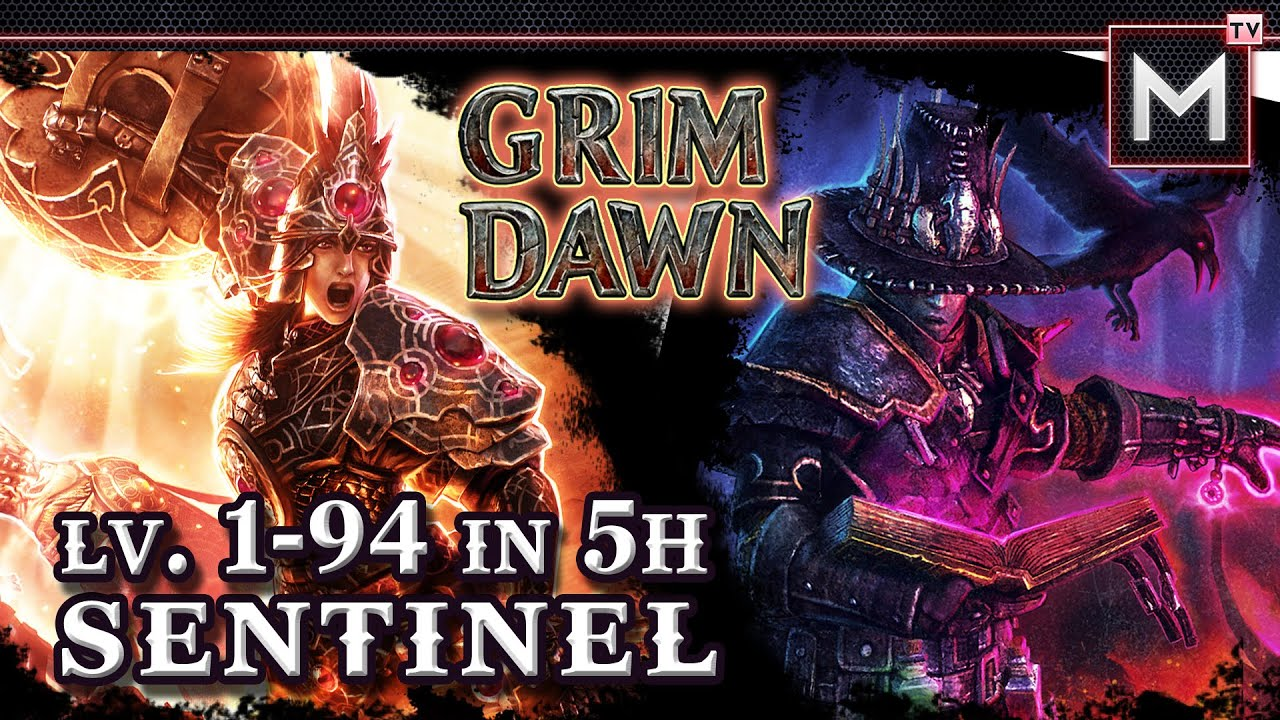 Sentinel Leveling 1 to 94 in 5Hrs - Grim Dawn (Oathkeeper Occultist)