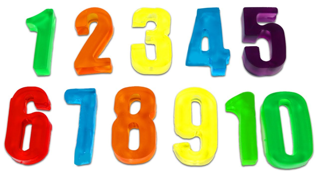 How to Make Rainbow Gummy Numbers | Fun & Easy DIY Jello Desserts!