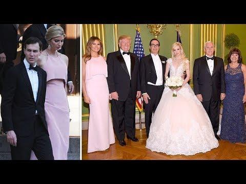 Treasury Secretary Steven Mnuchin and his Scottish actress fiancee are married