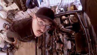 Видео блог №1 Subaru Outback 2004 - Установка Ангельских глазок