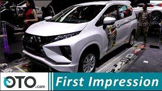 Mitsubishi Xpander GLS AT & Sport MT | First Impression | GIIAS 2018 | OTO.com