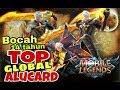 BOCAH 14 tahun dari indonesia TOP GLOBAL Alucard (cold) - mobile legend