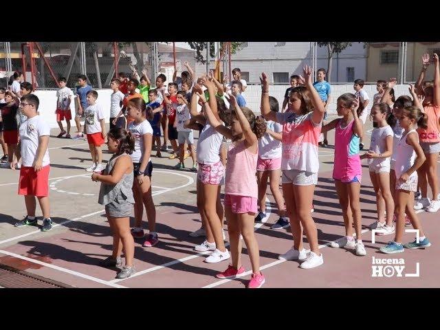 VÍDEO: Ya están en marcha las ludotecas de verano. Más de 1.100 escolares pasarán por ellas