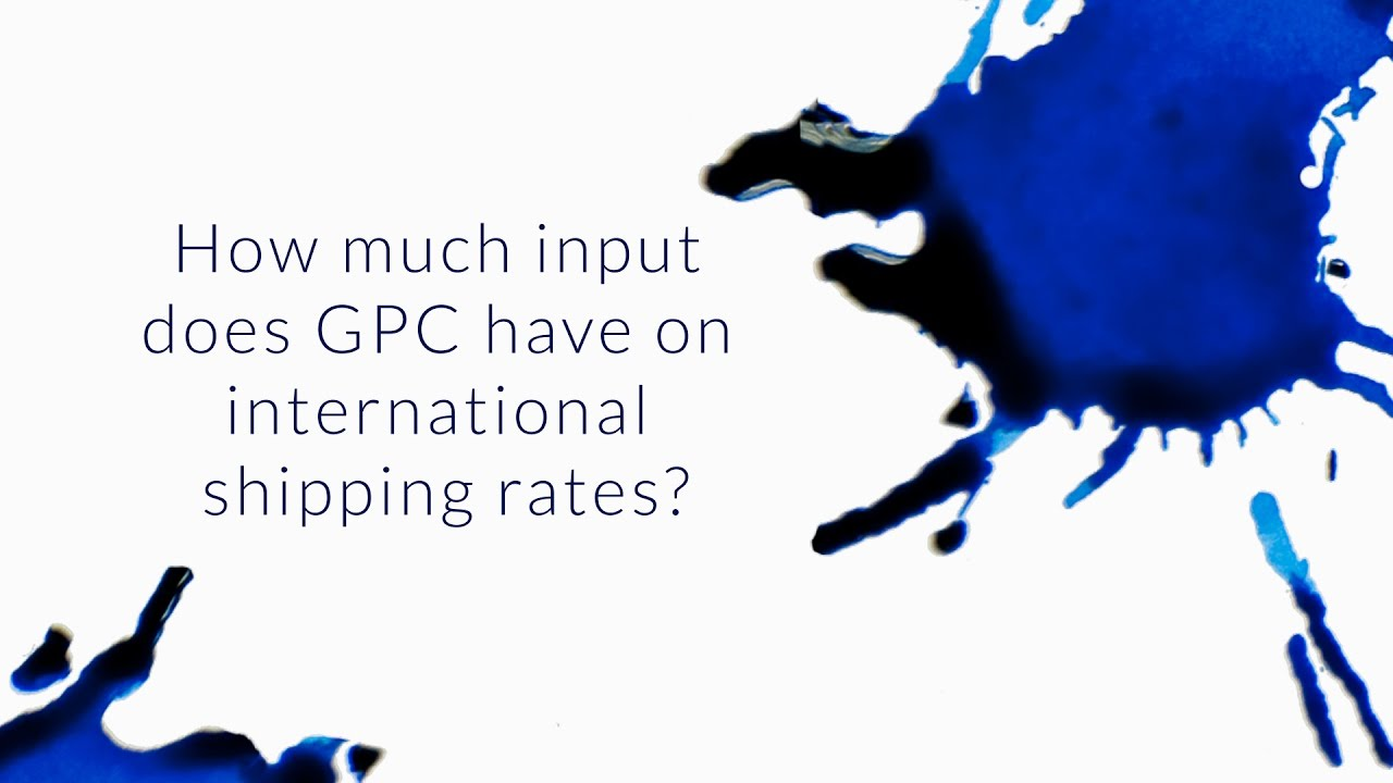 How Much Input Does GPC Have On International Shipping Rates? - Q&A Slices