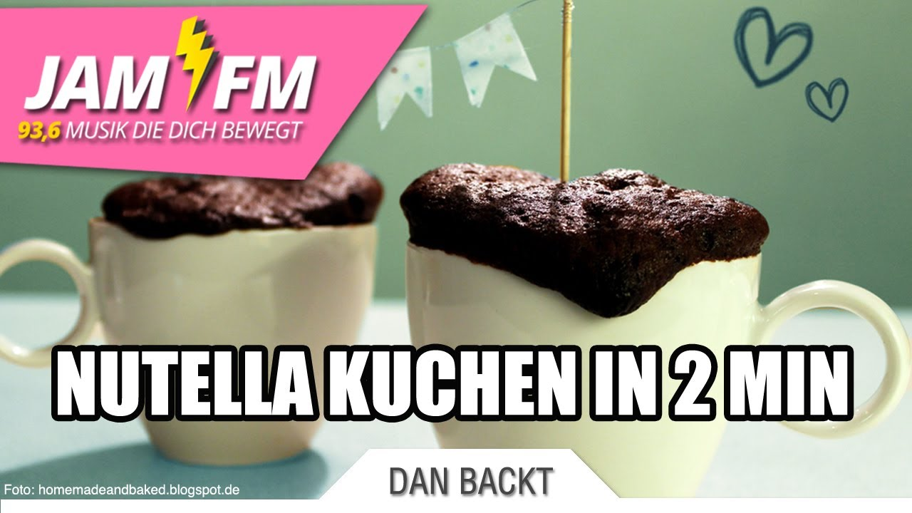 Nutella Schoko Tassen Kuchen Youtube