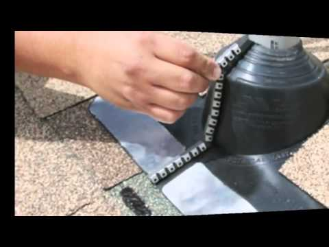 Emc Master Flash Roof Flashing That Seals Around An
