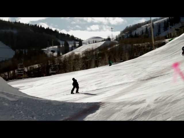 2012 OnTheSnow Visitors' Choice Winner for Best Overall Terrain Parks: Park City, Utah