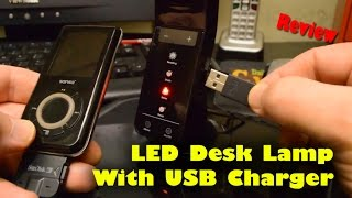 Awesome Led Desk Lamp With Usb Charger - Review