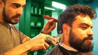 CÓMO TENER BARBA??  // Un día siendo barbero