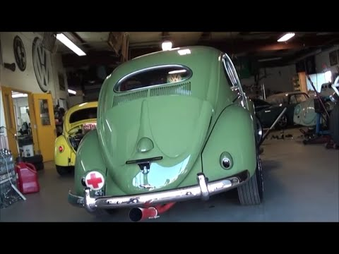 Restoring A Clic Volksagen 1955 Vw Bug Clips From The Build At Compeion Engineering