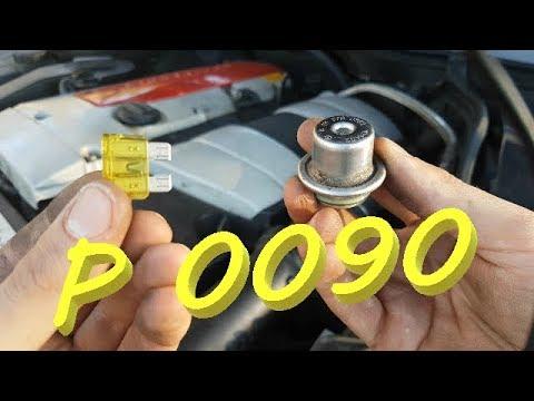mercedes w 203 fuel presure regulator / symptoms and install