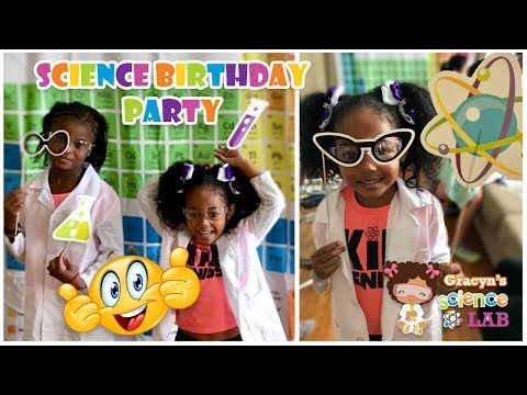 Science Birthday Party Entertainment - Science Experiments for Kids!