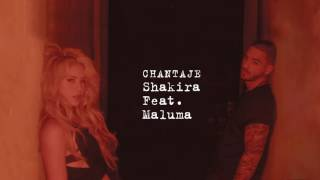 Video Shakira   Chantaje Audio ft  Maluma (wali quevedo) download MP3, 3GP, MP4, WEBM, AVI, FLV Oktober 2018