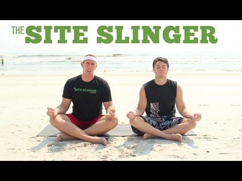 Beach Yoga for The Site Slinger