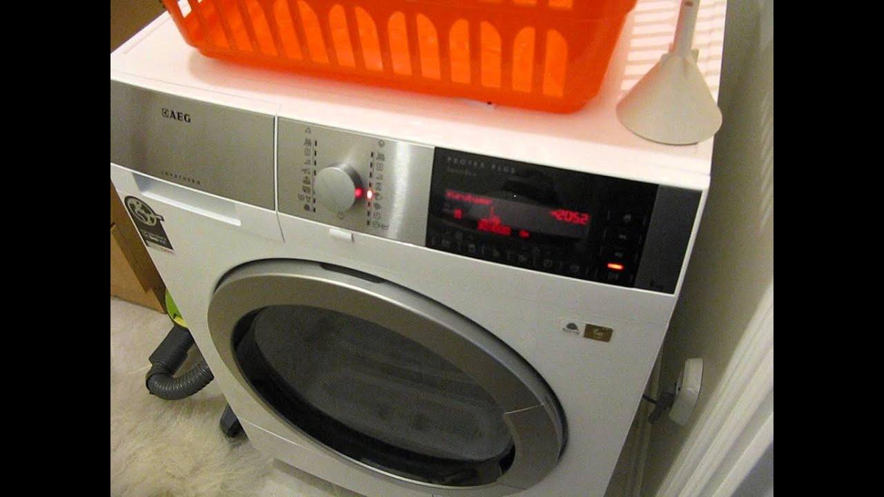 aeg lavamat protex filter reinigen