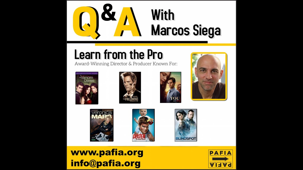 Masterclass with Marcos Siega