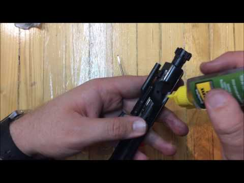 AR15 Bolt Carrier Group How to Lube, Failure to Eject