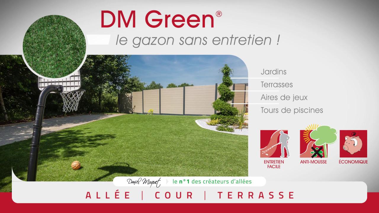 DM Green - pour un gazon sans entretien - YouTube