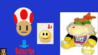 Bowser Jr teaches Toad how to draw good