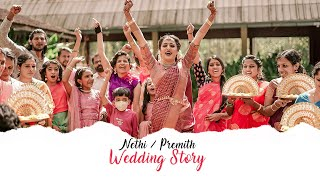 Scene 1:Love happens | Kerala Wedding  of Nethi & Premith  | Peppeads