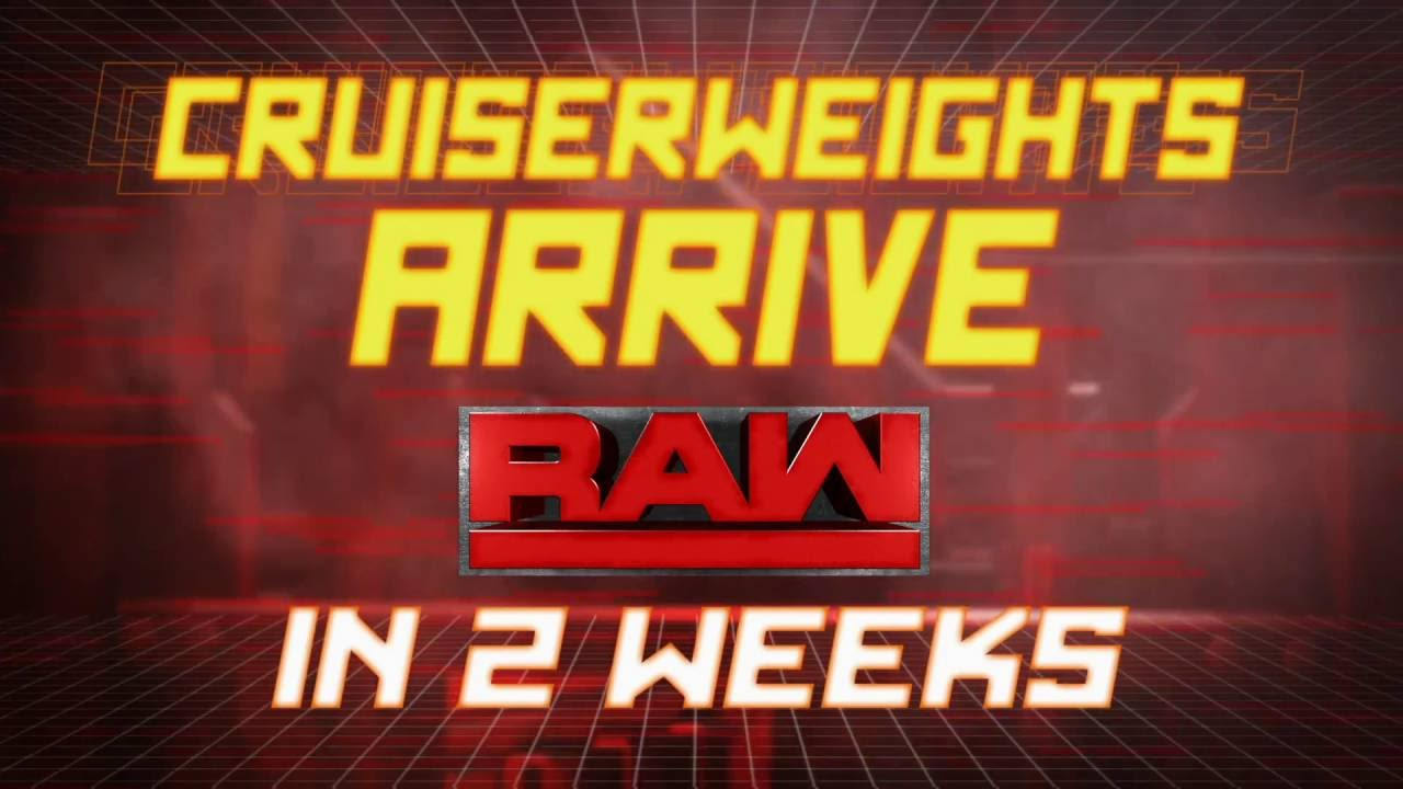 Can WWE's Cruiserweight Division Boost Raw Ratings?