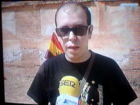 Granada Televisión informa del acto de UCAR en recuerdo de las víctimas del franquismo