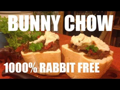 The original street food from South Africa - Durban Bunny Chow Recipe