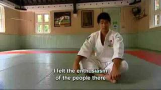 Japanese Judo champion Kosei Inoue gives his impressions of the UK