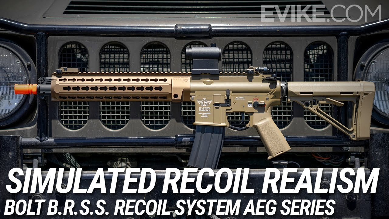 Bolt M4 Lrp B R S S Bts Full Metal Recoil Ebb Airsoft Aeg Rifle Black Airsoft Guns Airsoft Electric Rifles Evike Com Airsoft Superstore